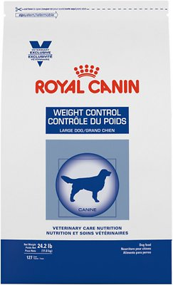 weight control royal canin for rotties